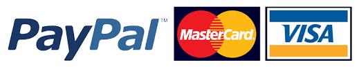 Visa – Master Card – Paypal